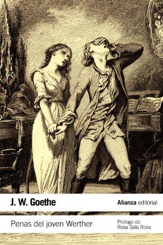 Penas del joven Werther por Johann Wolfgang von Goethe