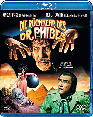 Bild von Die Rückkehr des Dr.Phibes [Blu-ray]