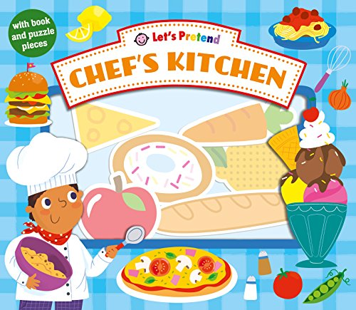 Let's Pretend Chef's Kitchen por Roger Priddy