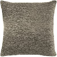Chenille Cushion Cover Charcoal