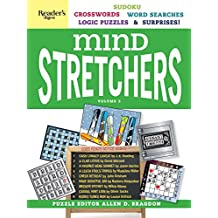 Reader's Digest Mind Stretchers Puzzle Book Vol. 3: Number Puzzles, Crosswords, Word Searches, Logic Puzzles and Surprises