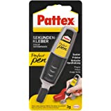 Pattex Perfecte pen, extra sterk en nauwkeurig voor nauwkeurig doseren, superlijmstift voor materialen zoals hout, rubber en