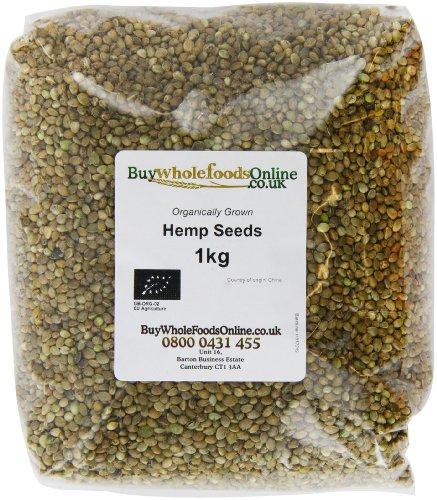 Buy Whole Foods Organic Hemp Seeds 1 Kg Test
