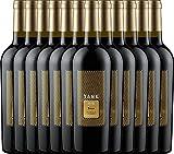 12er Paket - TANK No 11 Syrah Appassimento 2017 - Cantine Minini   italienischer Rotwein   halbtrockener Wein aus Sizilien   12 x 0,75 Liter