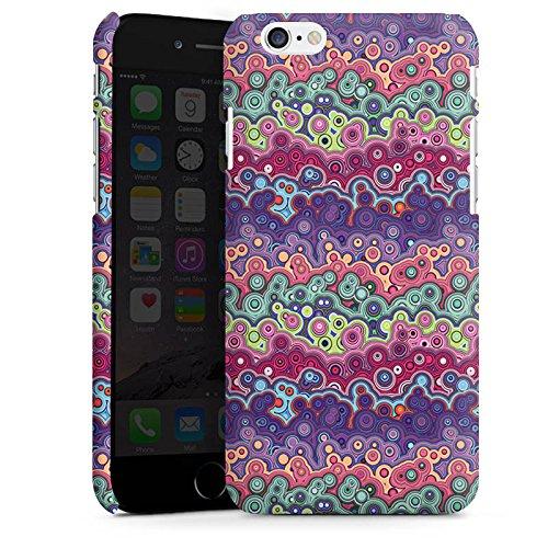 Apple iPhone X Silikon Hülle Case Schutzhülle Farben Blasen Pattern Premium Case matt