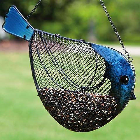 Evergreen Enterprises 2BF213 m-tal et verre Birdfeeder - Oiseau