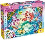 Lisciani Giochi 48069 - Sirenetta Puzzle Doppia Faccia Plus, 108 Pezzi