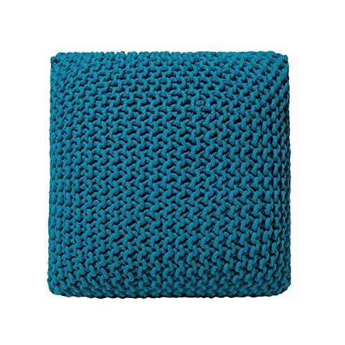 Beliani Sitzsack, Baumwolle, 50 cm, Marineblau