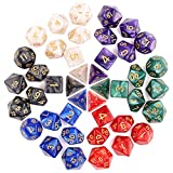 Picture Of H&S 6 Sets Dice Dungeons and Dragons Dice Set 7 Sided Polyhedral DND D&D RPG MTG Table Game