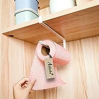 Alliebe Distributeur de papier essuie-tout sous armoire support pour rouleau de papier sans perçage pour cuisine salle…