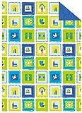 Ursus 13314601 - Fotokarton Desire, 300 g/qm, 10 Blatt, DIN A4, blau