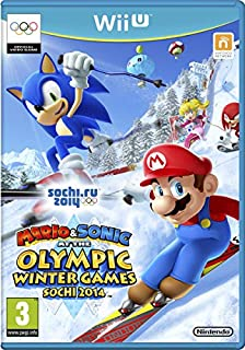 Mario & Sonic at the Winter Olympic Games: Sochi 2014 (Nintendo Wii U) (B00CMJ18C6) | Amazon price tracker / tracking, Amazon price history charts, Amazon price watches, Amazon price drop alerts