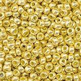EFCO 1024396 3.5 mm 17 g Indianerperlen Metallic, Old Gold