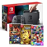 Console Nintendo Switch Gris + Rayman Legends + Sonic Forces + Mario Kart 8