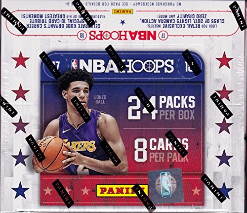 5b6c918d6a548 Unopened Box of Packs 2017 2018 HOOPS NBA Basketball Retail Series HUGE  Containing 192 cards including One Autographed Card and Retail EXCLUSIVE ...