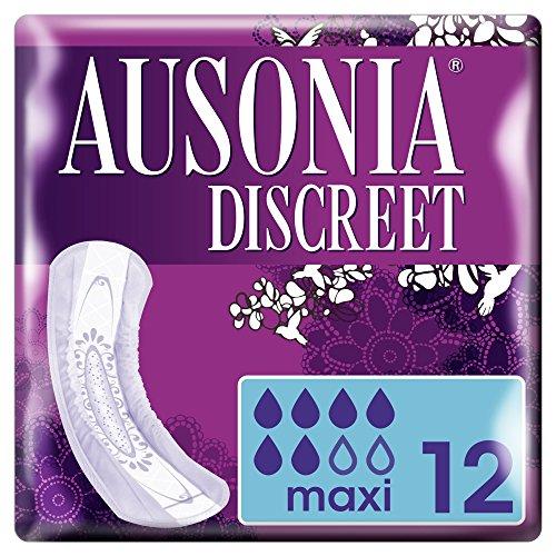 Ausonia Discreet Maxi Día Noche Compresas Pérdidas