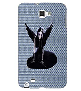 PrintDhaba Dark Angel D-3208 Back Case Cover for SAMSUNG GALAXY NOTE 1 (Multi-Coloured)
