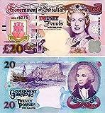 Gibraltar - 2006 £20 Sammlerbanknoten (Unzirkuliert)