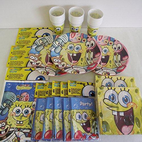 Spongebob Party pack für 30 Kinder