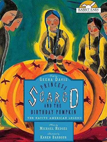 Princess Scargo and the Birthday Pumpkin, Told by Geena Davis [OV]