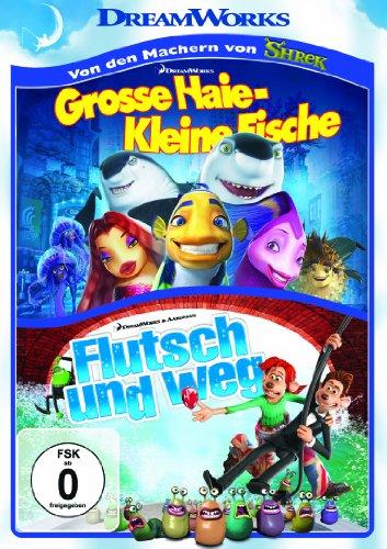Flutsch und weg & Große Haie, kleine Fische [2 DVDs]