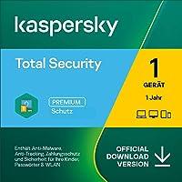 Kaspersky Total Security 2021   1 Gerät   1 Jahr   Windows/Mac/Android   Aktivierungscode per Email