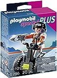 Playmobil 5296 Top Agent with Balance Racer