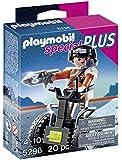 Playmobil - 5296 - Figurine - Agent Secret Et Gyropode