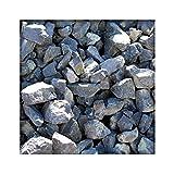 Kieskönig Gabionensteine Basalt Anthrazit 60/130 mm Basaltschotter Bruchsteine Gabione 480 kg Big Bag