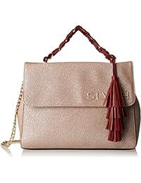 Handbag Lupion, Womens Shoulder Bag, Nero (Black), 7x21x21 cm (W x H L) Silvian Heach