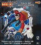 Generator Rex. Caja de Actividades 3D: Figuras que se sostienen. Póster 3D. Libro 3D. 2 pares de gafas 3D