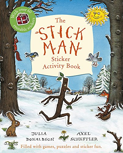 Stick Man Sticker Activity