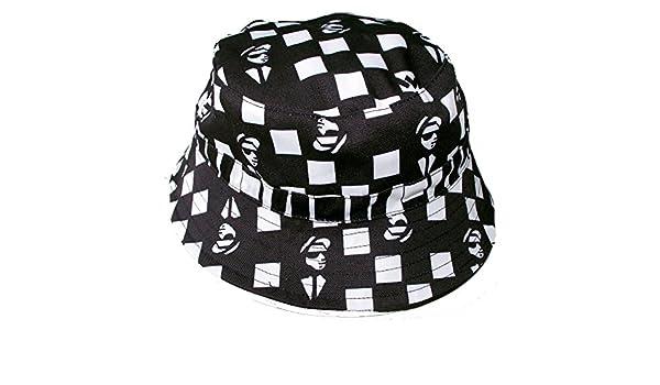 d32a8ee9dcd Warrior Adults Ska Man Bucket Hat Reversible Two Tone  Amazon.co.uk   Clothing