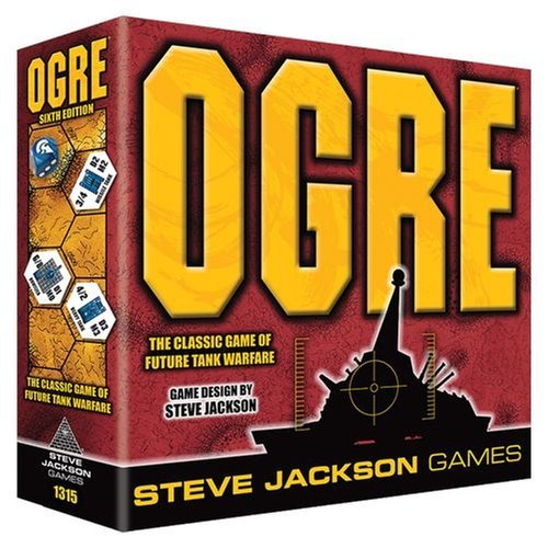 Ogre Sixth Edition Board Game