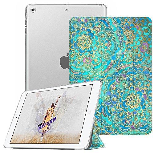 Fintie iPad Mini Hülle - Ultradünne Superleicht Schutzhülle mit transparenter Rückseite Abdeckung Cover mit Auto Schlaf/Wach Funktion für Apple iPad Mini/iPad Mini 2 / iPad Mini 3, Jade (Fintie Ipad Mini 2 Case Tastatur)