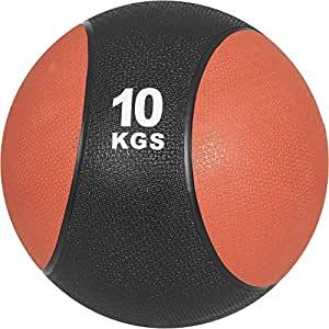 Gorilla Sports Médecine Ball Adultes, Multicolore, 10 kg