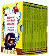Usborne Very First Reading 16 Books Box Set Collection Pack RRP: 74.85 (Read...