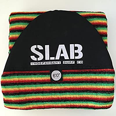 Slab- funda calcetin 6' rasta -retro fish