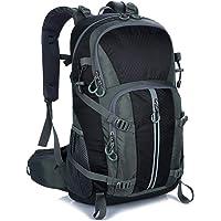 Mornyray Hiking Backpack, 40L Waterproof Men Women Outdoor Travel Rucksack for Trekking, Camping, Walking, Travelling…