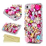 iPhone 7 Case, iPhone 7 3D Bling Shiny Diamonds Glitter Sparkling Case Colorful