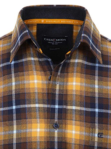 CASAMODA Messieurs Chemise d'affaires regular fit Orange