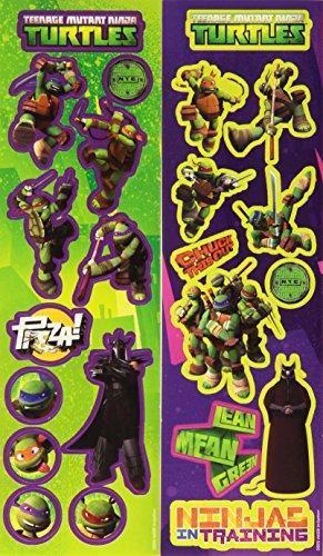 Amscan - Adesivi gioco Teenage Mutant Ninja Turtles (RM300053)