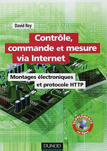 Contrôle, commande et mesure via Internet - Montages électroniques et protocole HTTP par David Rey