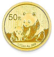 IceCarats 24k 50 YUAN Panda Coin