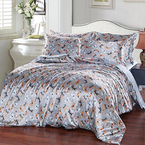 Bettwäsche komfortabel glatte vier Anzug kissenbezüge Bettwäsche decken, schmetterling Quilt, 1,5 m ()