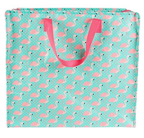 HA SB TOTE024 Jumbo M Tropical Flamingo -