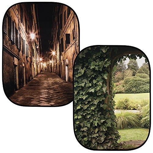 Lastolite LL LB5742 Hintergrund mit Bildtiefe ital Nacht/english Garten Lastolite Studio