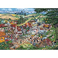 Gibsons Puzzle - I Love The Farmyard - 1,000 Piece Jigsaw