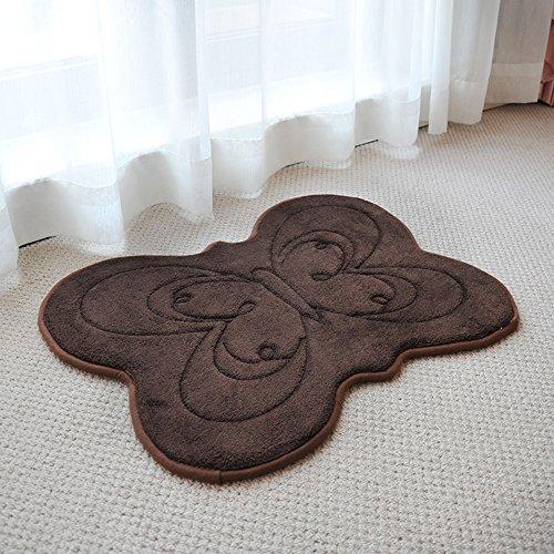 Acqua - non resistenti - slittamento impermeabile igienici rilievo del piede del materasso Bagno Children Carpet (colore, formato facoltativo) ( colore : A )