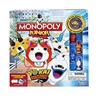 Yoi-kai Watch theme;Capture the Yo-kai;Quick gameplay;Includes gameboard, 4 character tokens, 4 Yo-kai board game watches, 16 Yo-kai goard game medals, 1 exclusive Yo-kai Medal (not part of gameplay), 24 Chance cards, money pack, 2 dice, and ...